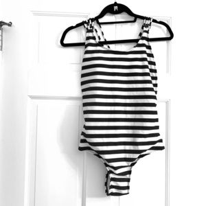 Stripy and Strappy One Piece